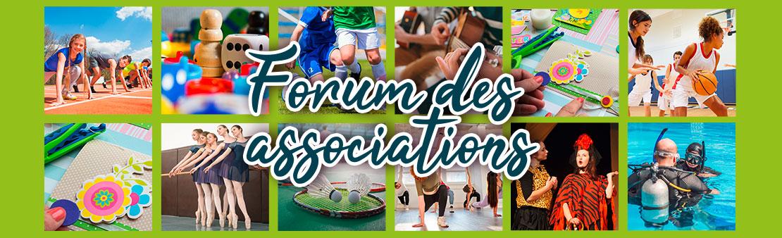 Sport & loisirs : tous au Forum des associations !