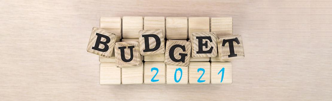 Le budget 2021