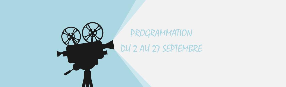 Ciné Debussy : programmation du 2 au 27 septembre 2020