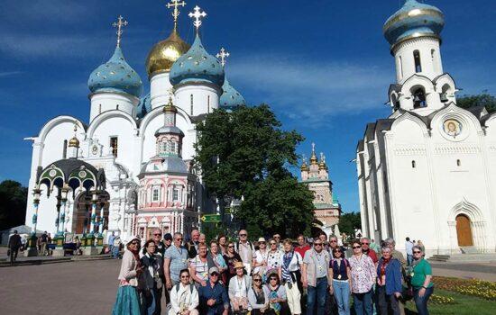A la découverte de Moscou pour ces seniors maisonnais !