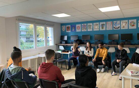 Les locaux de la Mission Locale Intercommunale, qui accompagne tout jeune de 16 à 25 ans, sorti du système scolaire, dans son insertion sociale et professionnelle, ont bénéficié d'une extension en 2019.