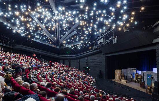 Le théâtre Claude Debussy, entièrement rénové en 2017