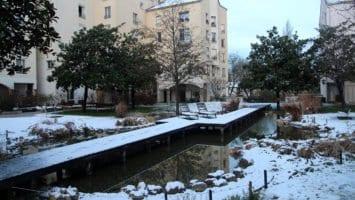 Maisons-Alfort sous un manteau blanc