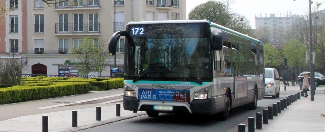 Plus de bus sur la ligne 172