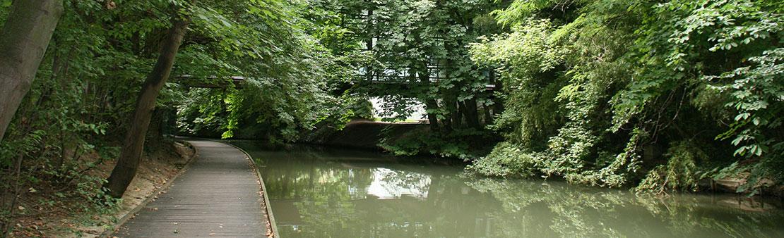 Accès interdit aux parcs, jardins publics et Bords de Marne
