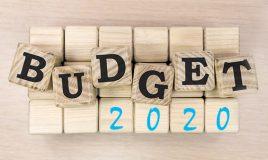 Le budget 2020