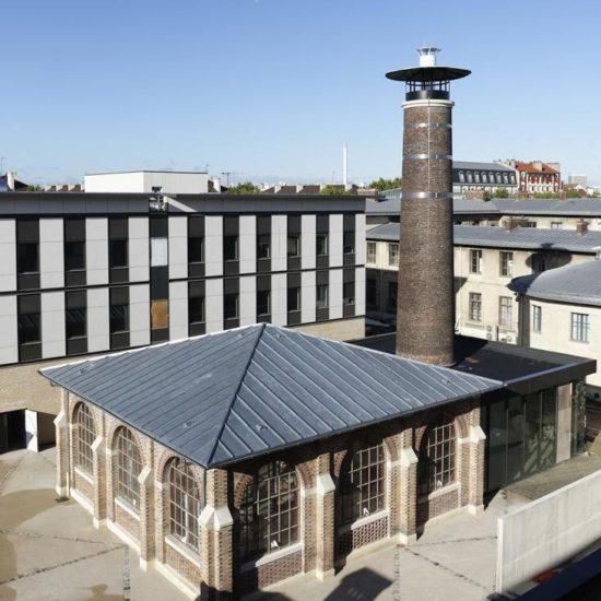 Le bâtiment Nocard, où Louis Pasteur travailla au XIXe siècle, a été entièrement restauré et modernisé pour accueillir la nouvelle clinique dédiée aux animaux de ferme.