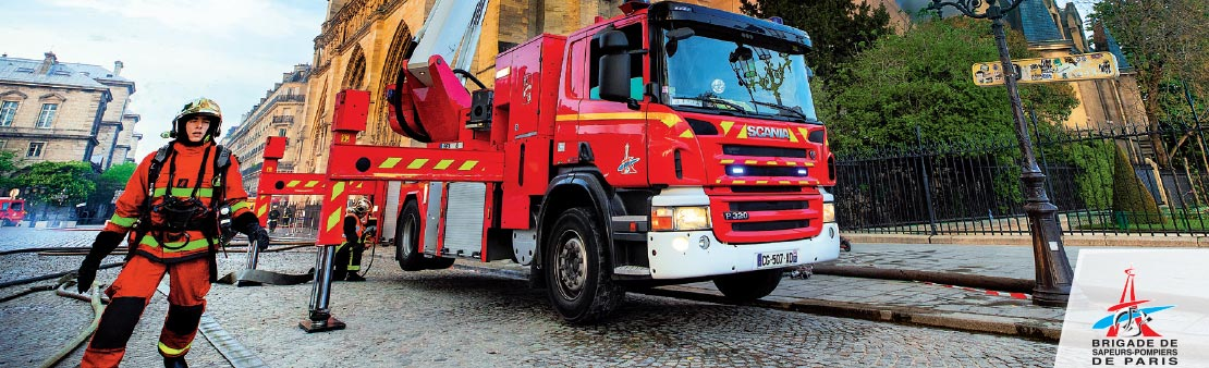 Sapeurs-pompiers : offrande des calendriers