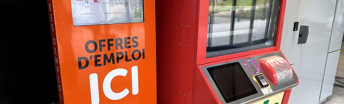 Gare du Centre-ville : Et si vous trouviez votre prochain emploi en prenant votre RER ?